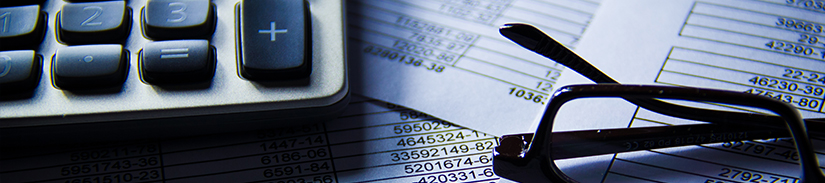 Trust companies and financial company, financial analysis and time sheets